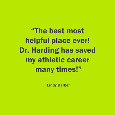 Chiropractic Louisville KY Testimonial Lindy Barber